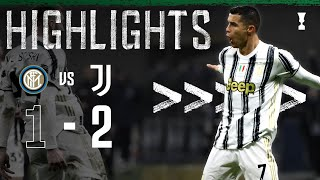 Inter 1-2 Juventus | Ronaldo Double Completes Comeback Win! | Coppa Italia Highlights
