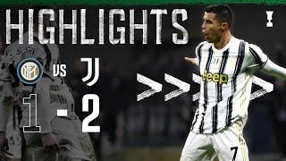 Inter 1-2 Juventus | Ronaldo Double Completes Comeback Win! | Coppa Italia Highl