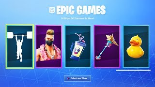 How To Get NEW FREE Fortnite 14 Days Of Summer Rewards! (Fortnite 14 Days Of Summer Free Rewards)