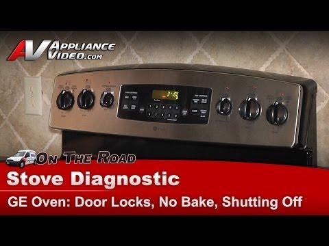 GE Oven Diagnostic - Door Light Randomly Comes On - JB900SK3SS