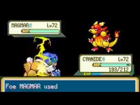 Pokemon Fire Red: Elite Four Champion Gary Omega Version