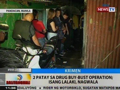 BT: 2 patay sa drug buy-bust operation sa Pandacan, Maynila; isang lalaki, nagwala