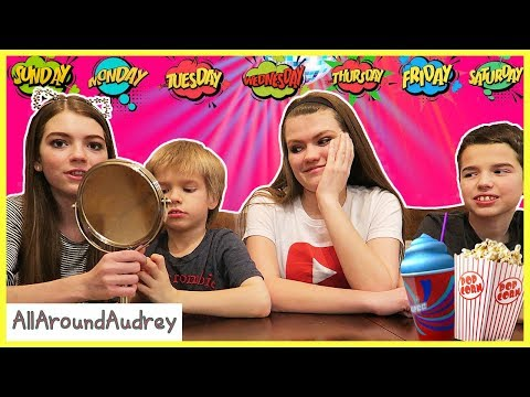 Babysitting My Siblings for a WEEK Without Parents! / AllAroundAudrey