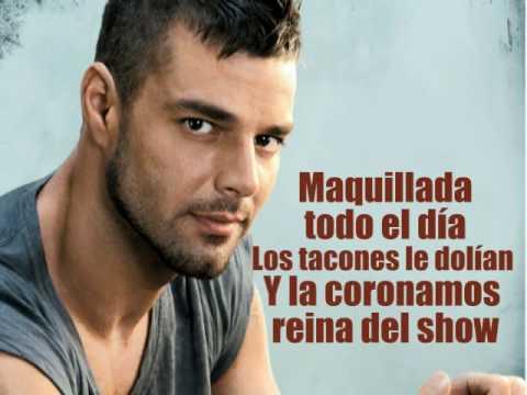 Mas  Ricky Martin HQ + lyrics