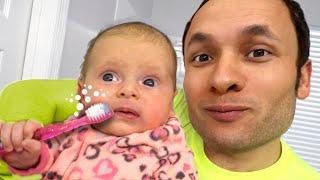 Утренняя рутина   Детская песня  Песни для детей с Майей и Машей