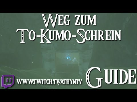 ZELDA: BREATH OF THE WILD - To-Kumo-Schrein Guide