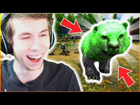OUR FIRST BABY DINOSAUR!!! - ARK: YouTuber Survival #48