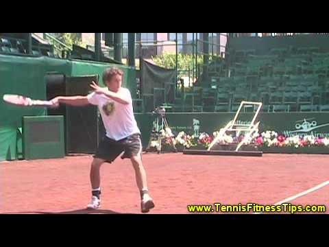 Windshield Wiper Forehand  Ryan Sweeting