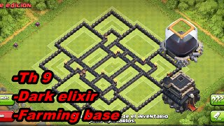 Clash of Clans - Dark Elixir Farming Base - NEVER LOSE DARK ELIXIR! Base!)