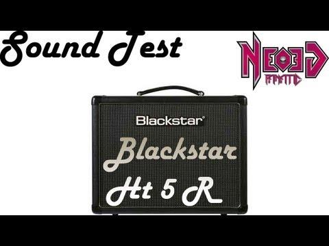 Blackstar HT5R Sound Test - Neogeofanatic