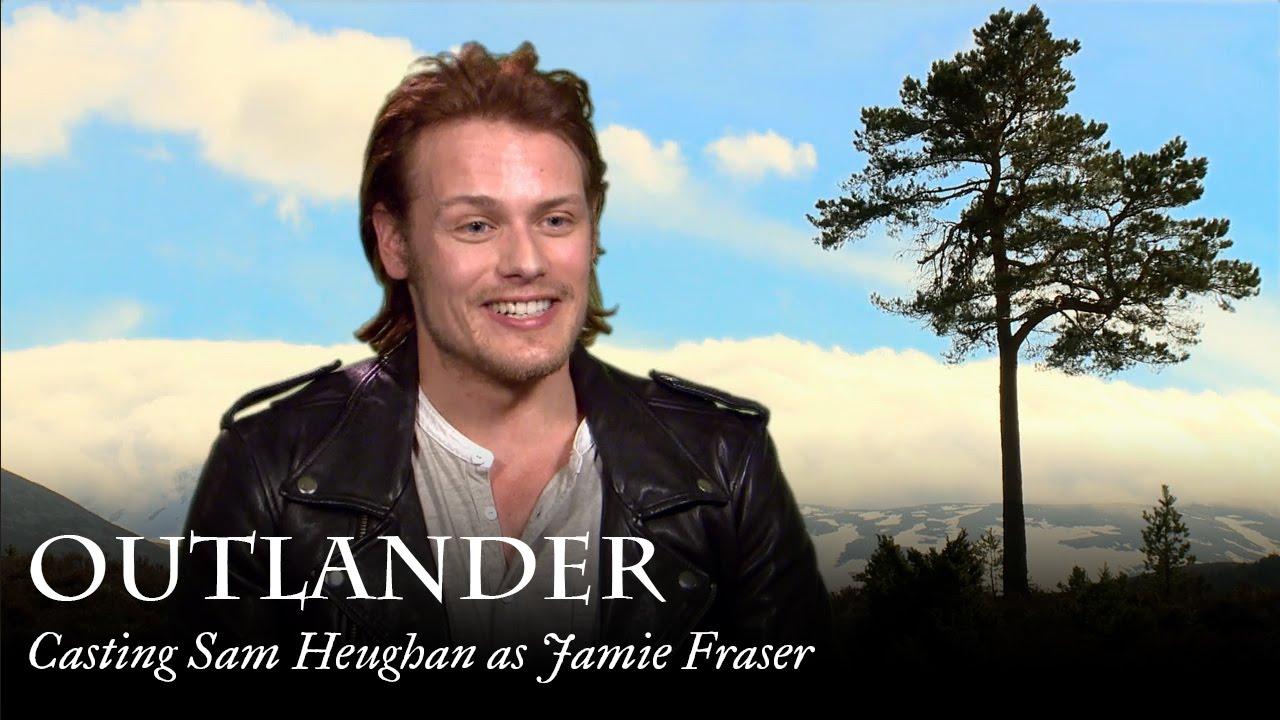 Outlander | Casting Sam Heughan as Jamie Fraser - YouTube