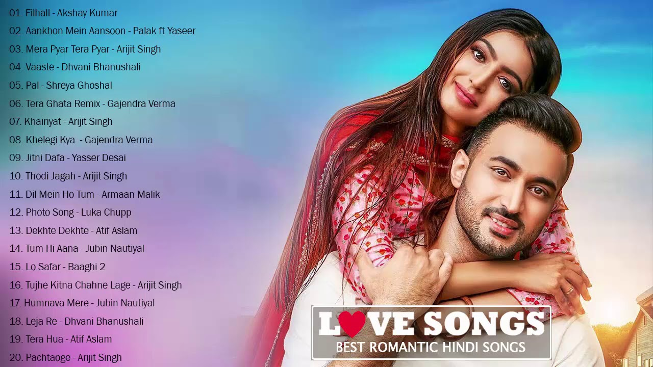 Top 20 Heart Touching Hindi Songs / romantic hindi love songs collection - Indian New SongS Jukebox