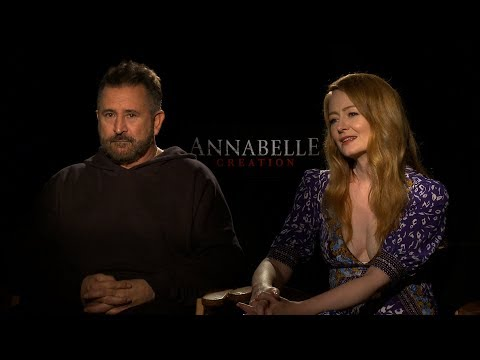 with Anthony LaPaglia and Miranda Otto for Annabelle: Creation