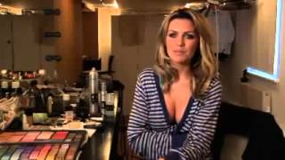Abbey Clancy's May 08 shoot Exclusive clip one