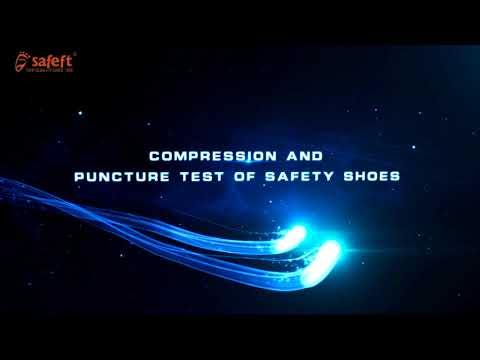 Our factory safety footwear show room and test lab per ORDER