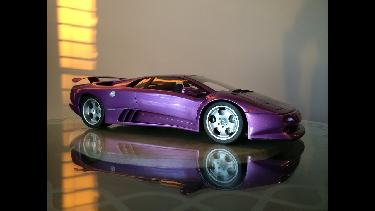 1:12 Lamborghini Diablo SE30 - YouTube on purple nissan gt-r 2014, purple dodge durango 2014, purple volkswagen beetle 2014, purple corvette 2014, purple bugatti veyron 2014, purple dodge challenger 2014, purple lotus elise 2014,