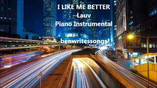 I Like Me Better (Lauv) - Piano Instrumental