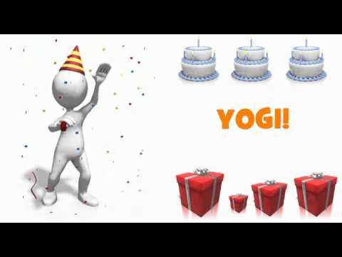 Felicitaciones Feliz Cumpleanos Yoga Yogui Www Imagenesmy Com