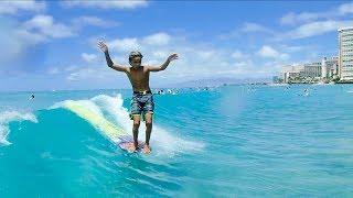 John Michael Van Hohenstein, Canoes surf break Waikiki beach
