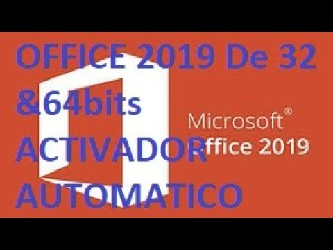 Descargar e instalar office 2019 PLUS full AC…
