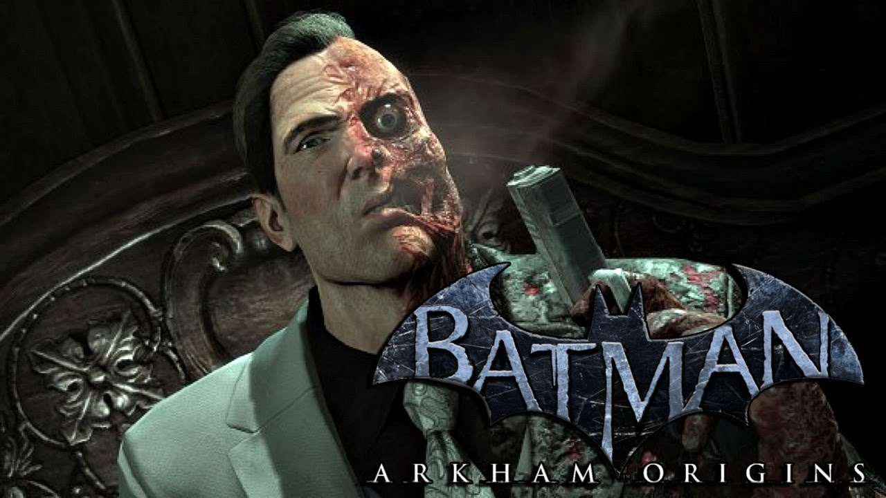 Batman Arkham Origins: Harvey Dent/Two Face in Expanded ...