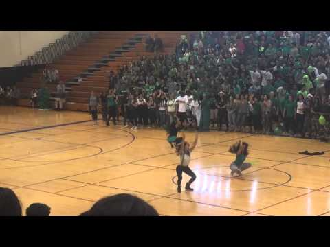 Kamehameha Schools Pep Rally 2014 - Seniors (Class of 2015)