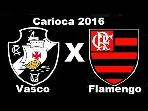 Vasco 2 x 0 Flamengo - Semifinal  Carioca 2016 - Jogo Completo