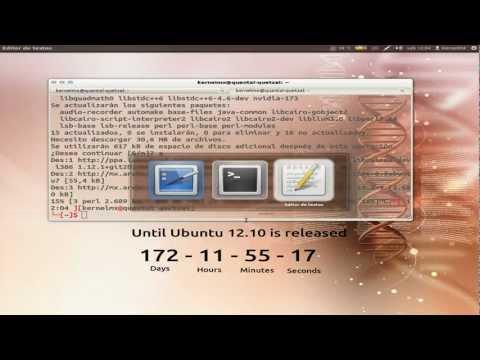 Testing: Upgrade to Ubuntu 12.10 Quantal Quetzal from 12.04 Precise Pangolin