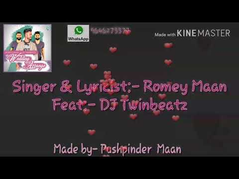 Wedding arrange  ( full video ) Romey Maan feat.DJ Twinbeatz  latest punjabi songs 2018 thumbnail