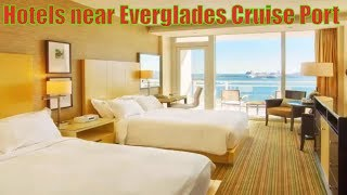 Fort Lauderdale hotels near the cruise port - hotels for the group cruise