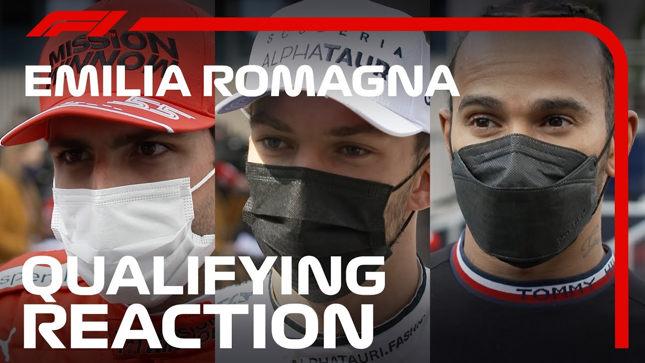 Drivers React After Crazy Close Qualifying | 2021 Emilia Romagna Grand Prix