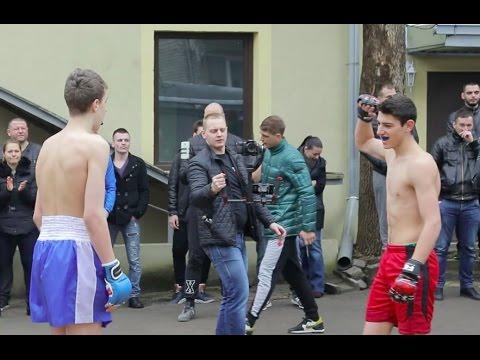 Неженка против Крутого Боксера