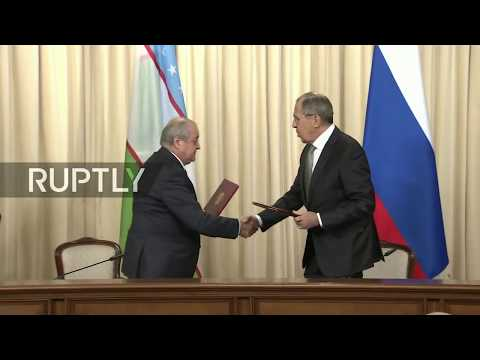 LIVE: Lavrov to meet with Uzbek counterpart (ENG)