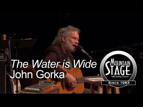 John Gorka  The Water Is Wide   from Mountain Stage