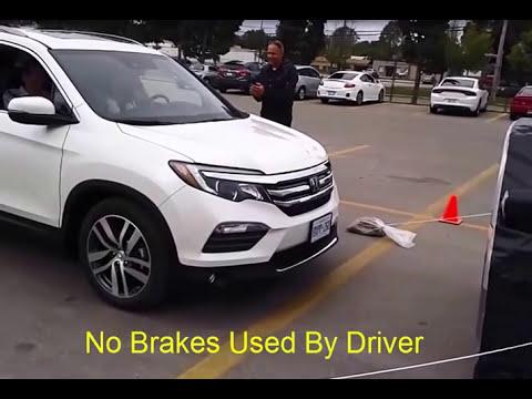 Honda CMBS test