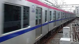 京王5000系5735F京王線「本八幡行き」笹塚駅到着