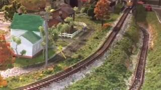 Model RR N Scale Layout #22 - Scratch built Utility or Telephone poles