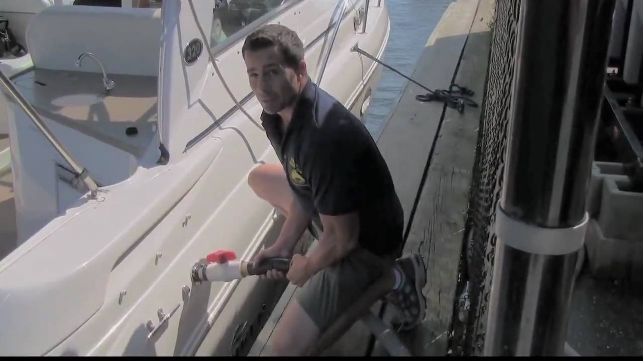 How To Pump Out Boat Youtube