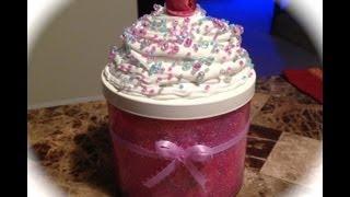 Diy: Cupcake Jar