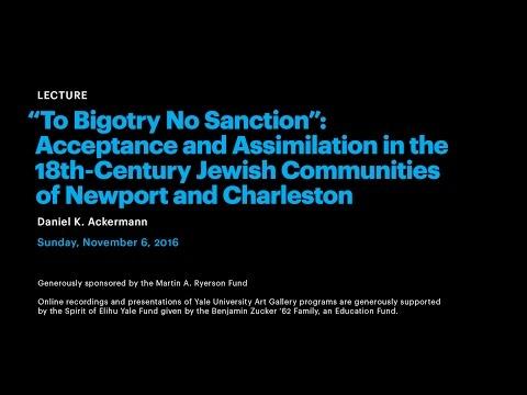 """To Bigotry No Sanction"""