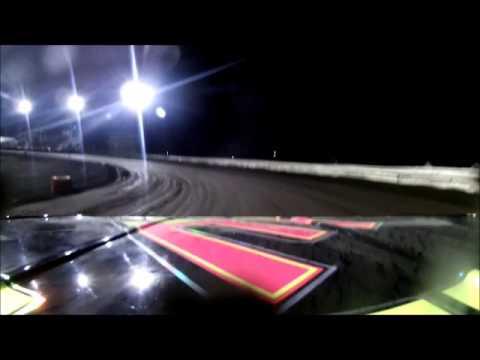 Lee County Speedway Clint Luellen Sportmod Feature On Board Camera 3-29-13