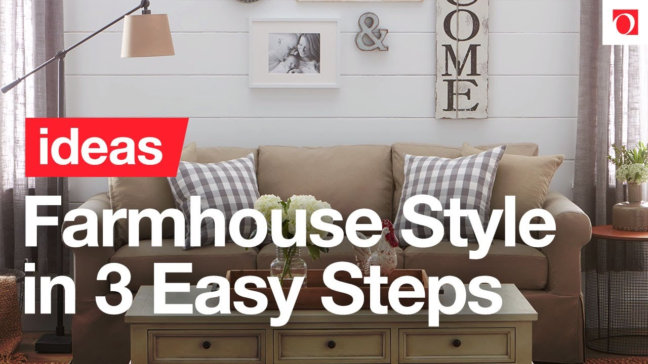 3 Easy Steps to Farmhouse Decorating - Overstock.com