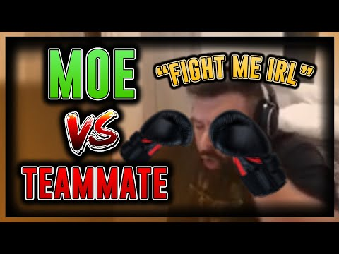 Moe Vs Teammates!!!!!!