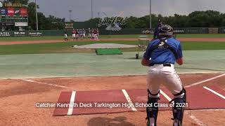 Catcher Kenneth Deck Tarkington High School Class of 2021
