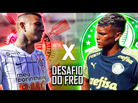 Luan X Veron! É Corinthians X Palmeiras No Desafio Do Fred!
