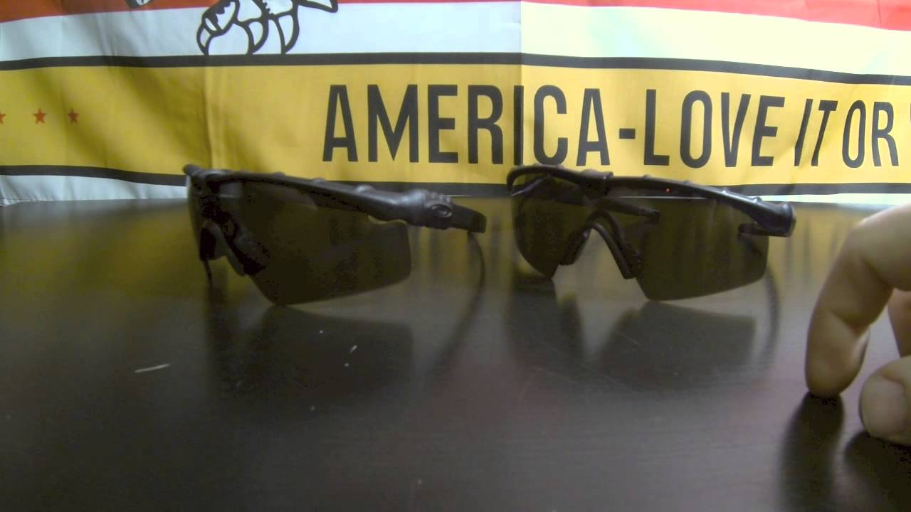 1a21c0cca0 OAKLEY SI Ballistic Eyewear 3.0 vs 2.0 - YouTube