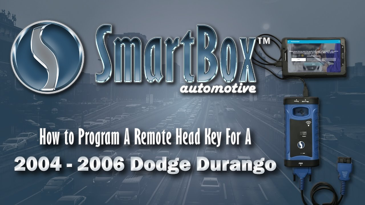 How To Program A Remote Head Key 2004 2006 Dodge Durango