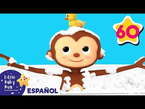 La canción del baño | Y muchas más canciones infantiles | ¡LittleBabyBum!