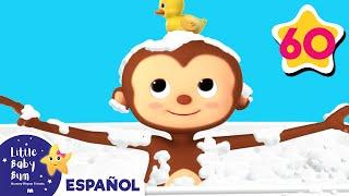 La canción del baño | Y muchas más canciones infantiles | ¡LittleBabyBum! thumbnail