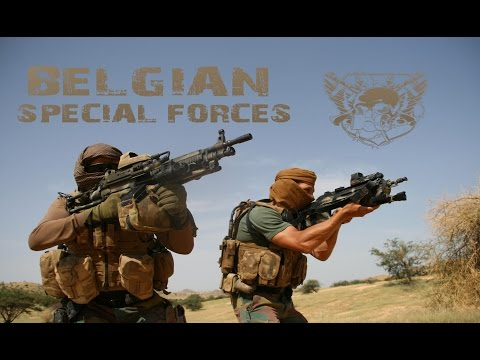 "Belgian Special Forces // CGSU & SFG // ""Far Ahead"""